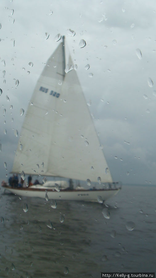 Яхта в Финском заливе