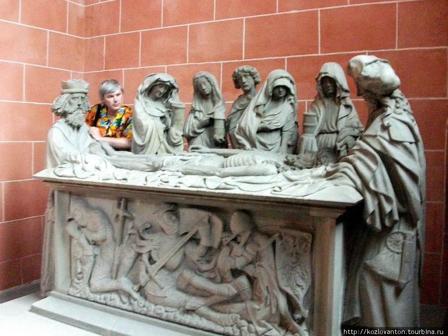 Часовня Магдалины со скульптурной композицией
