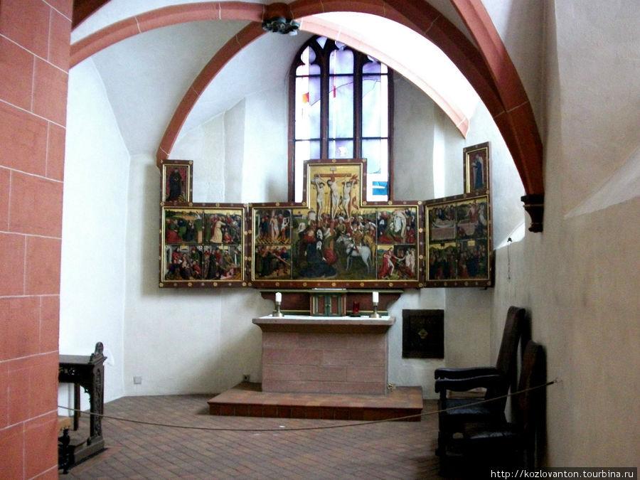 Часовня, где курфюрсты выбирали нового императора.