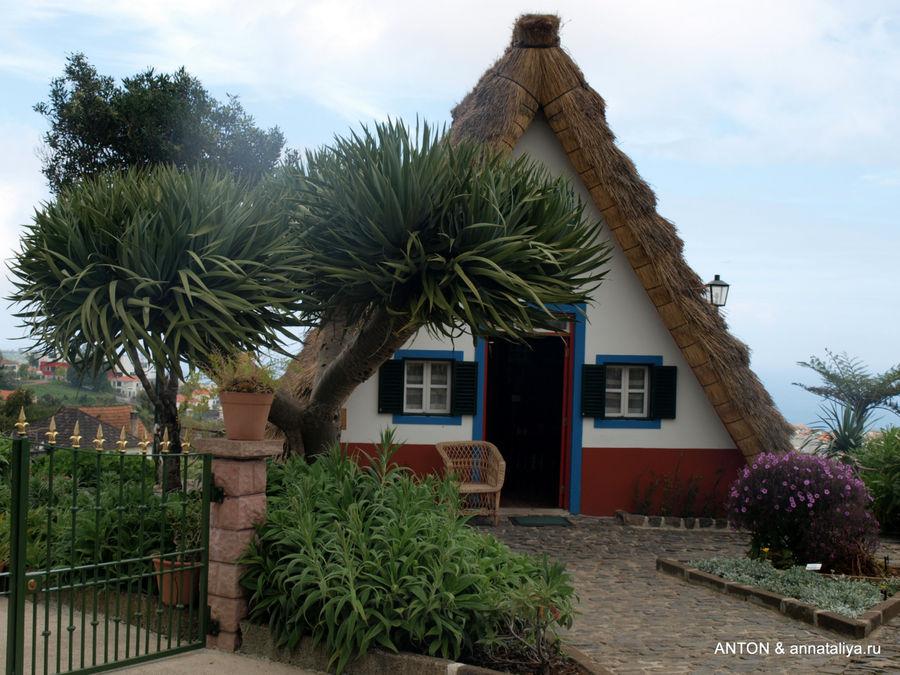 Национальные дома в Сантане.