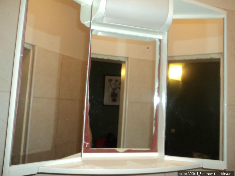 это единственное зеркало в номере!