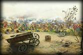 Сцена из битвы.