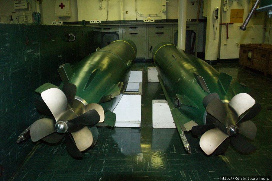 Мастерская по подготовке торпед