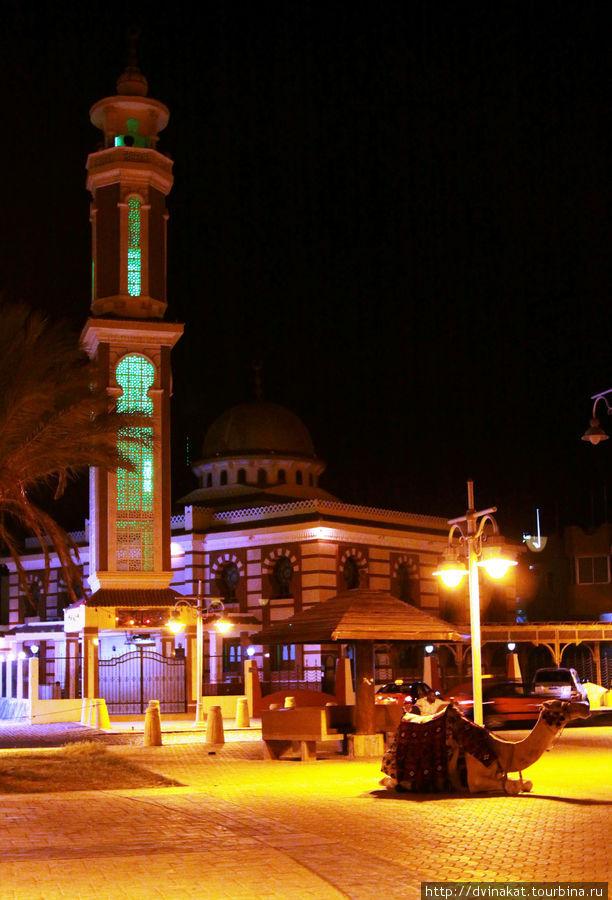 Мечеть в районе Мамша