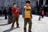Юные сирийцы
