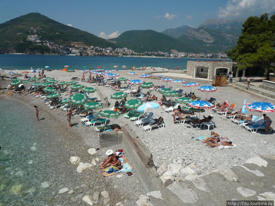 Пляж острова Святого Николая.