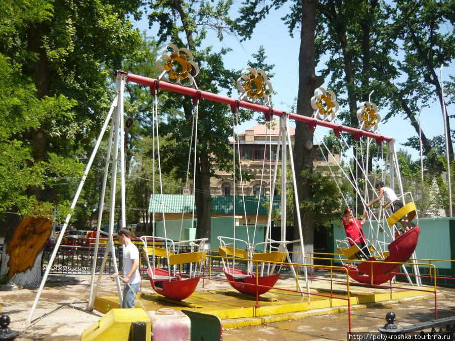 Детский парк в Чимкенте
