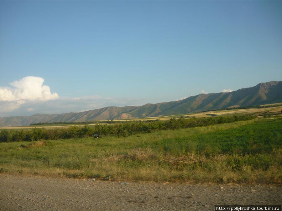 Южно-казахстанские пейзажи