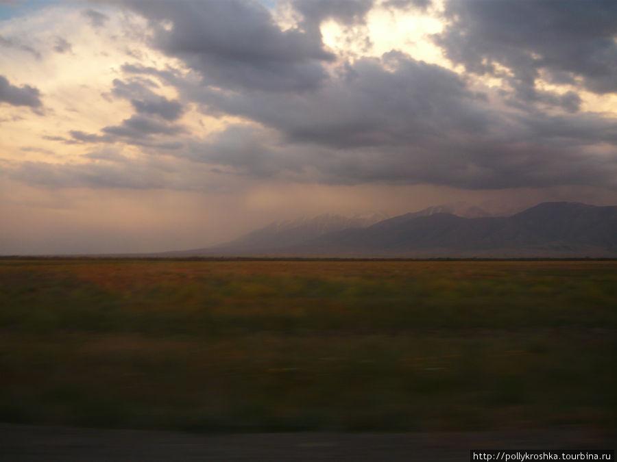 Прощание с горами... Их не будет до Борового (Северный Казахстан)