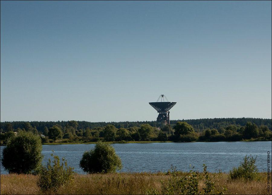 Телескоп недалеко от Каля