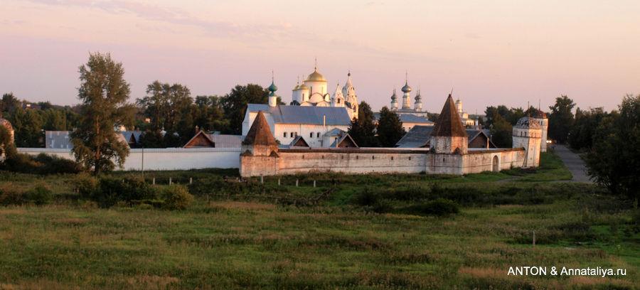 Вечерняя панорама Покровс