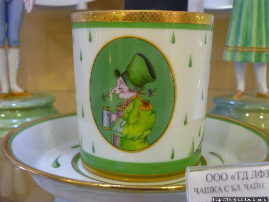 Чашка от Шемякина
