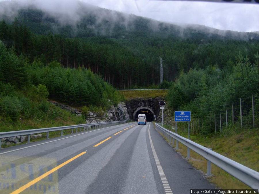 въезд в тоннель