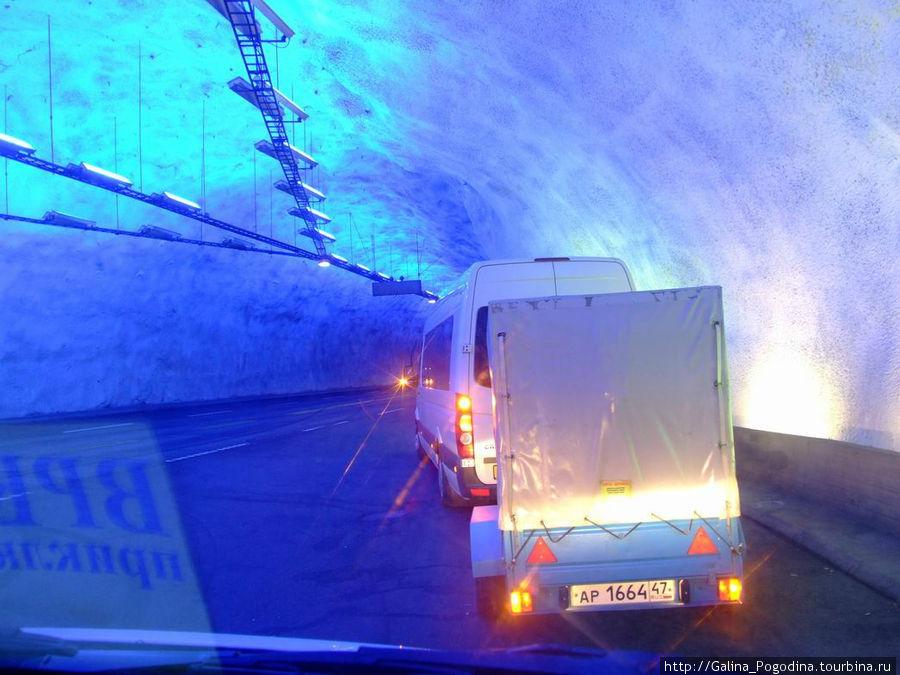 самый длинный тоннель Норвегии — 24,5 км