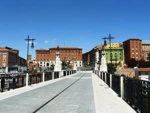 Viaducto peatonal (новый мост)