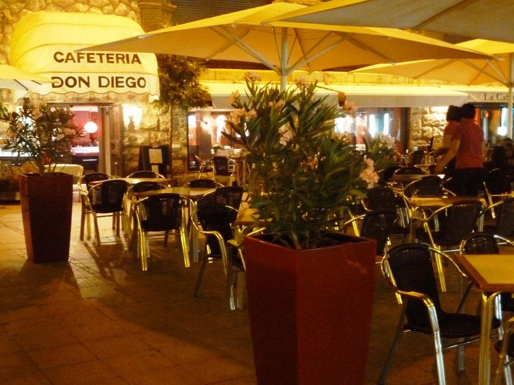 Кафе в испании цены