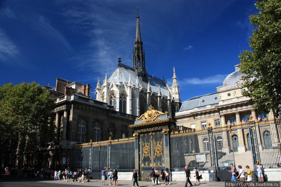 Париж. Дворец Правосудия и Сент Шапель