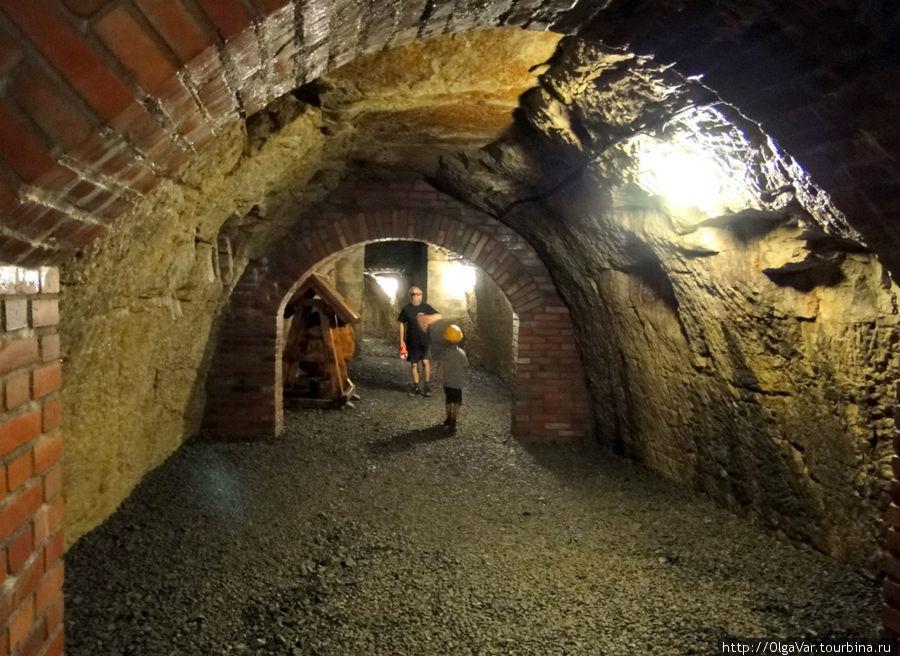 Мелницкие подземелья