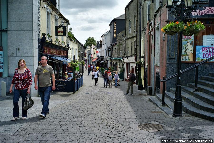 St. Kieran's street.