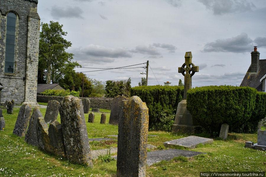Кельтское кладбище при Со