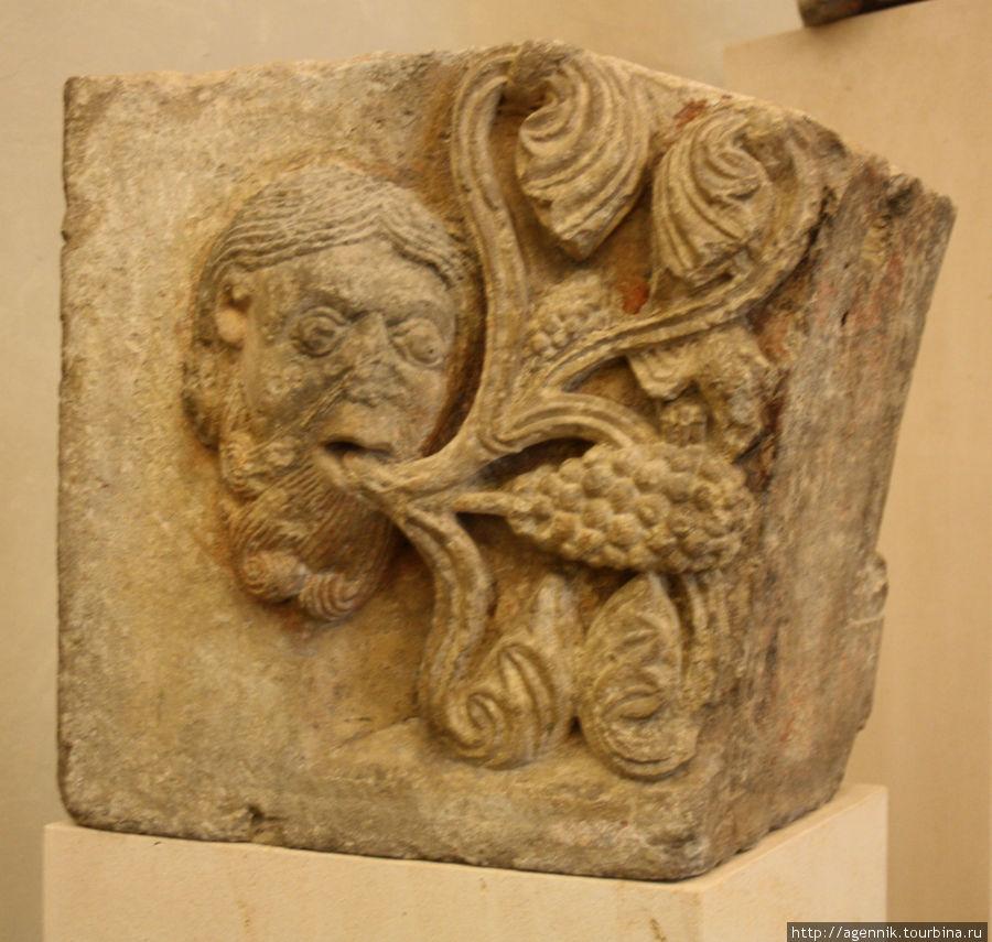 Остатки римских поселений