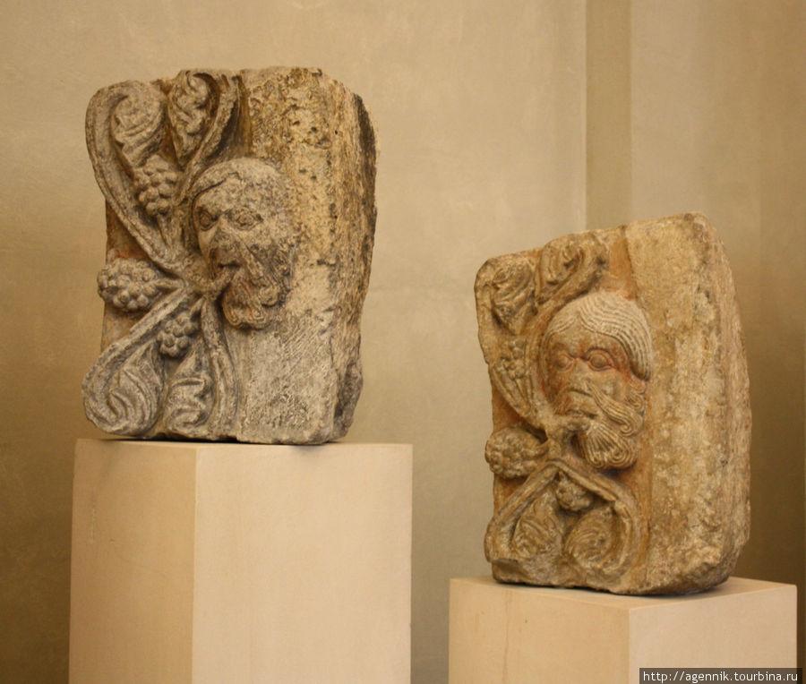 В Регенсбурге или Аугсбурге встречается римская кладка римски