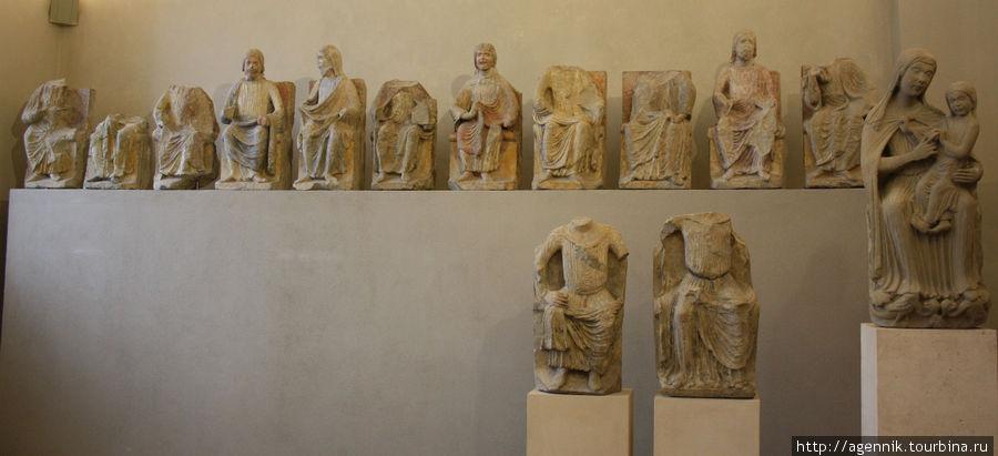 С раскопок римских лагере