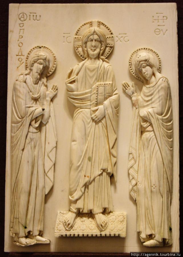 Даже в композиции иконопись Византии была образцом