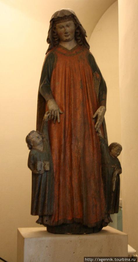 Мария с Иоанном Предтечей и Христом
