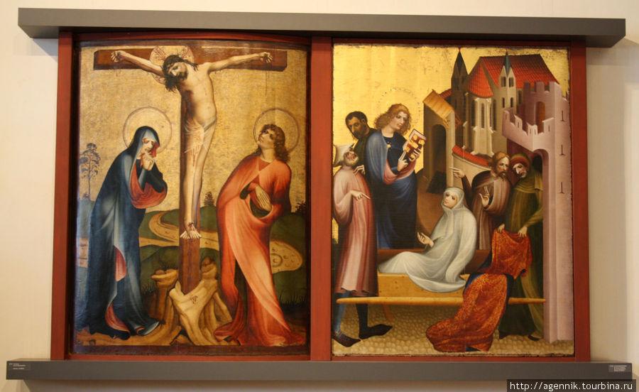 Диптих — распятие и Воскресение