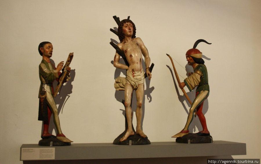 Святой Себастьян и его палачи