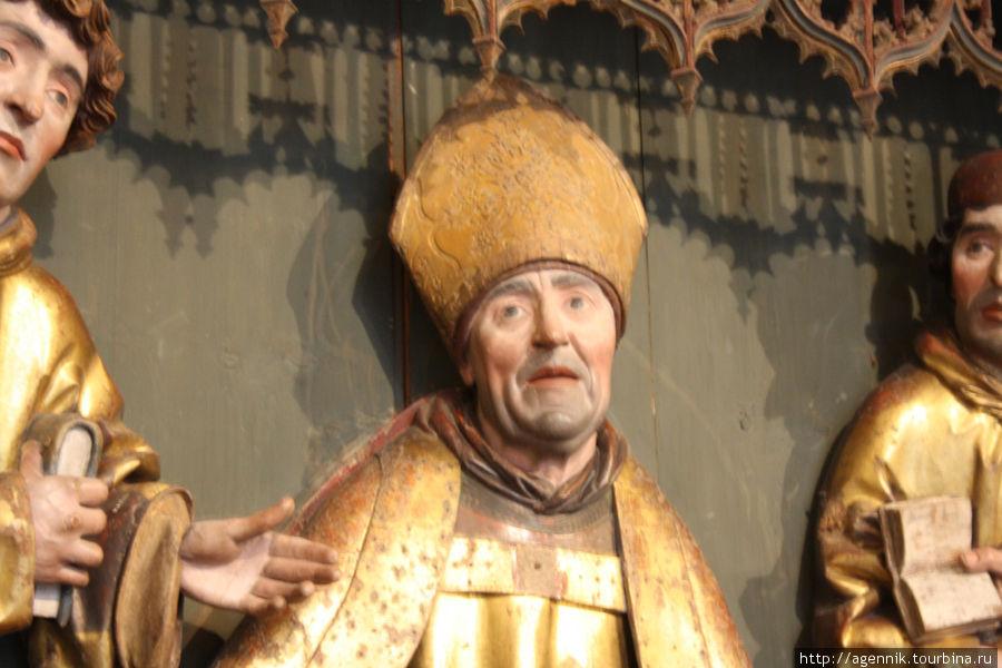 Лицо епископа просто потрясающе сделано