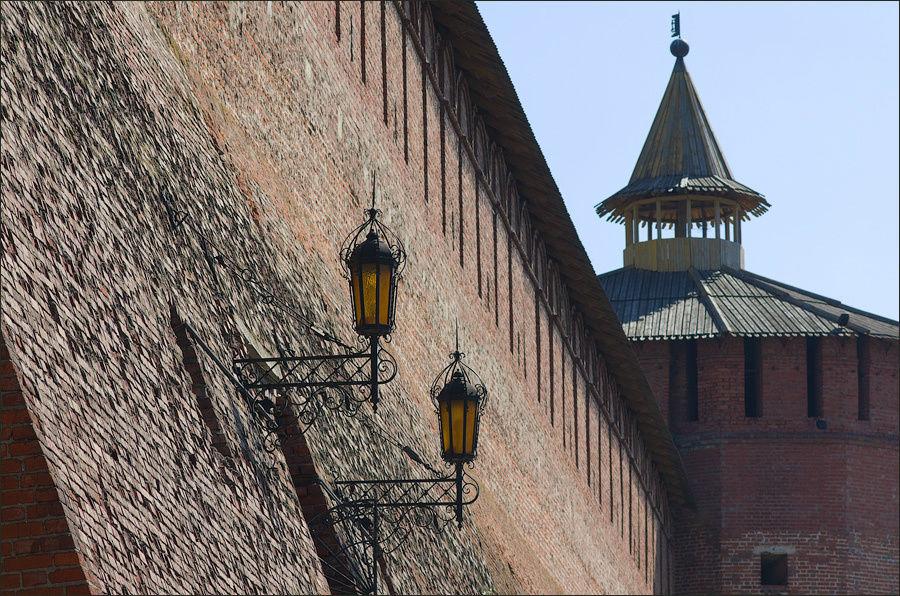 Фонари Михайловских ворот
