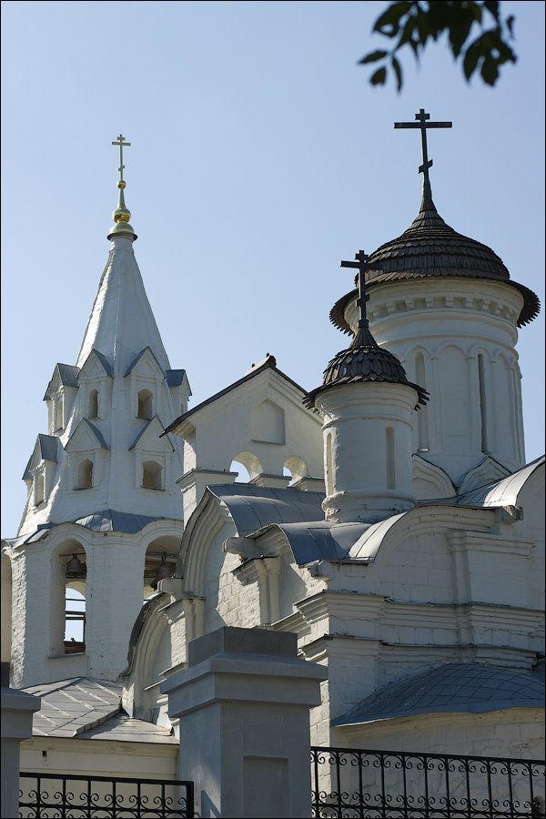 Купола церкви Зачатия Иоа