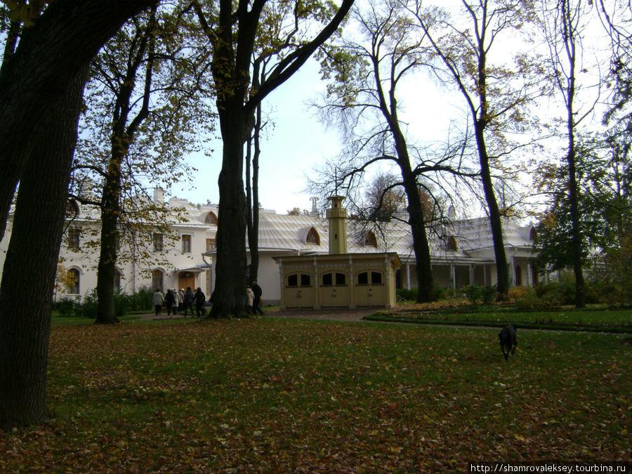 Фермерский дворец — жилой дом Александра II