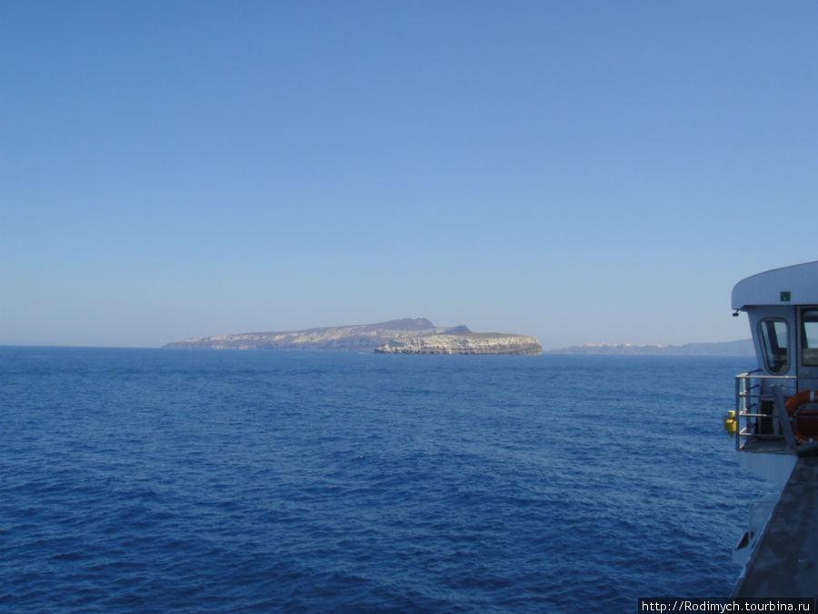 Острова — предвестники Санторини
