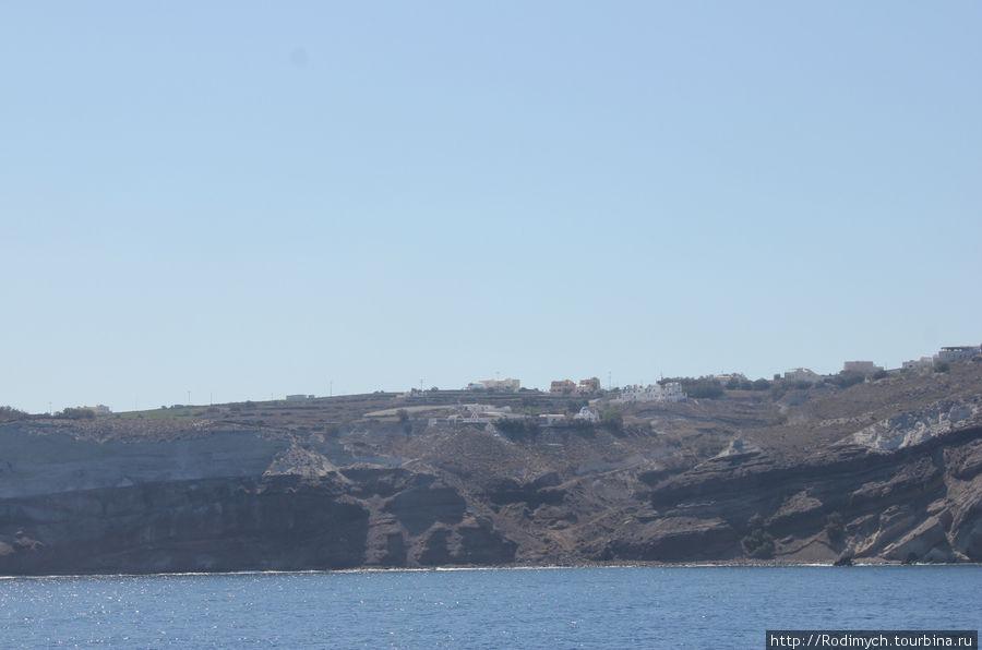 Акротири — самый южный поселок Санторини