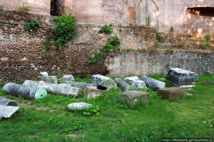 Руины замка Виктора Эммануила