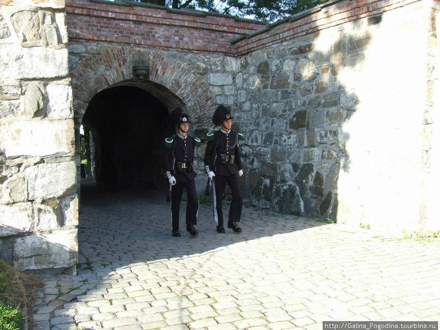 гвардейцы в крепости