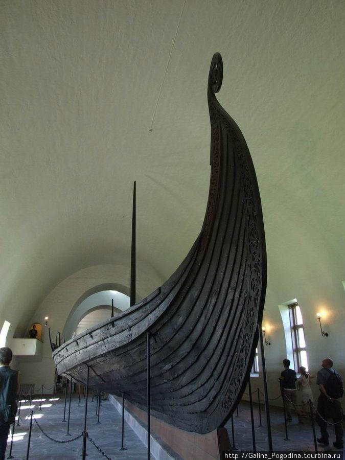 в музее викингов