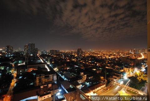 Ночная Манила.