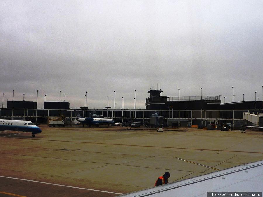Один из терминалов Хьюстонского международного аэропорта.