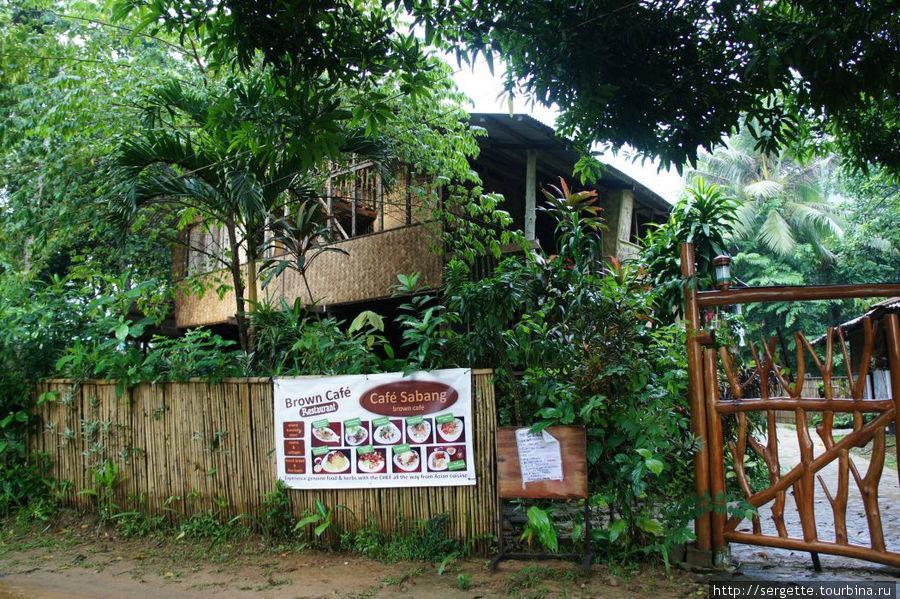 Кафе Сабанг. 200 метров от пляжа