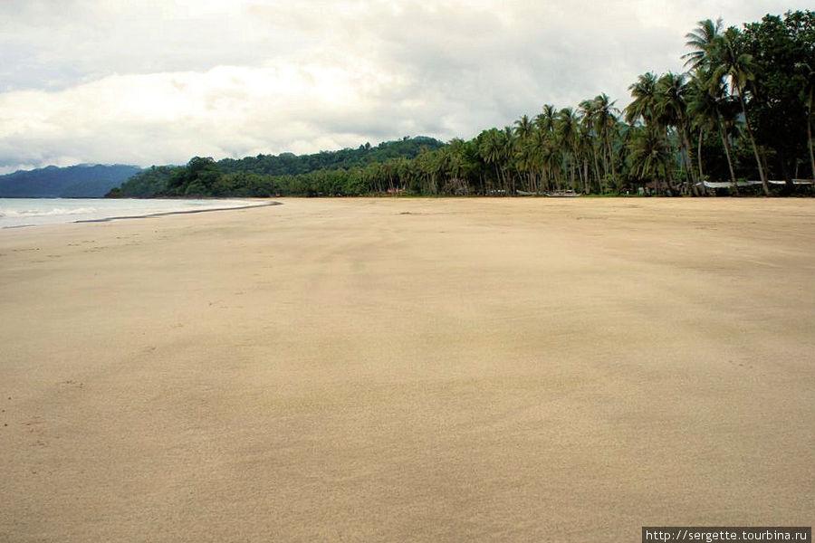 Вот такой песок в отлив
