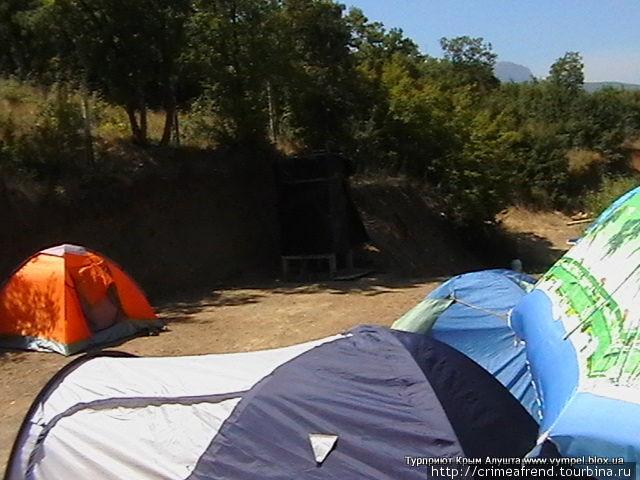 Палаточный городок Крым Алушта http://camp.pp.ua телефон: +7(978)731-13-06 e-mail: alushtatur@mail.ru