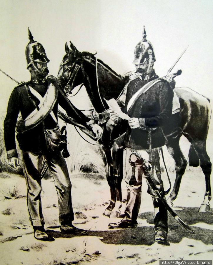 Так выглядели полицейские в 19 веке
