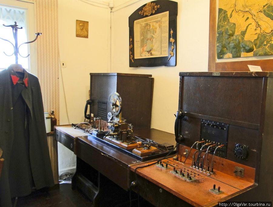 Кабинет связиста. Телефонно-телетайпная связь в 30-40-е годы — то же, что интернет сегодня
