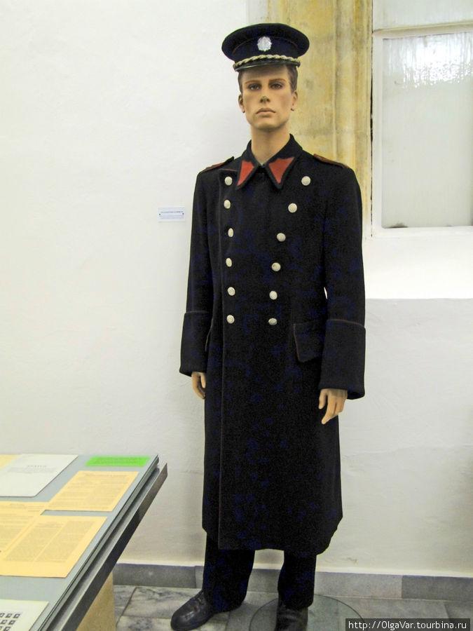 Форма жандармерии перед второй мировой войной