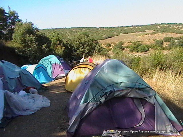 Палаточный городок Крым Алушта