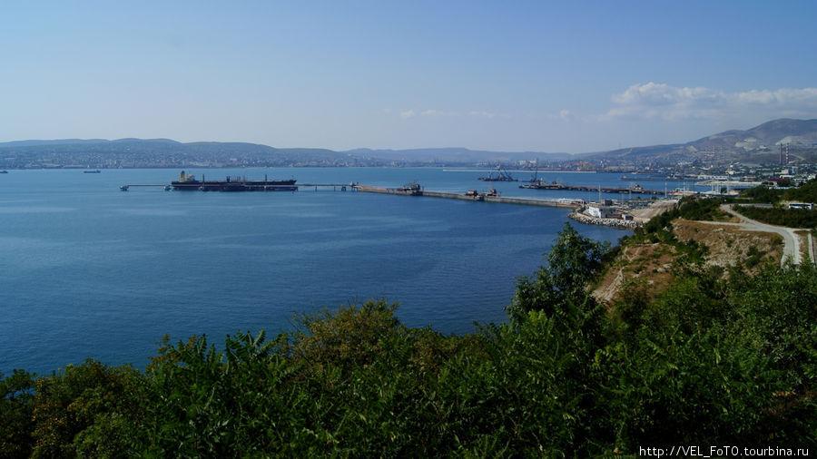 Вид на Цемесскую бухту(Новороссийск)
